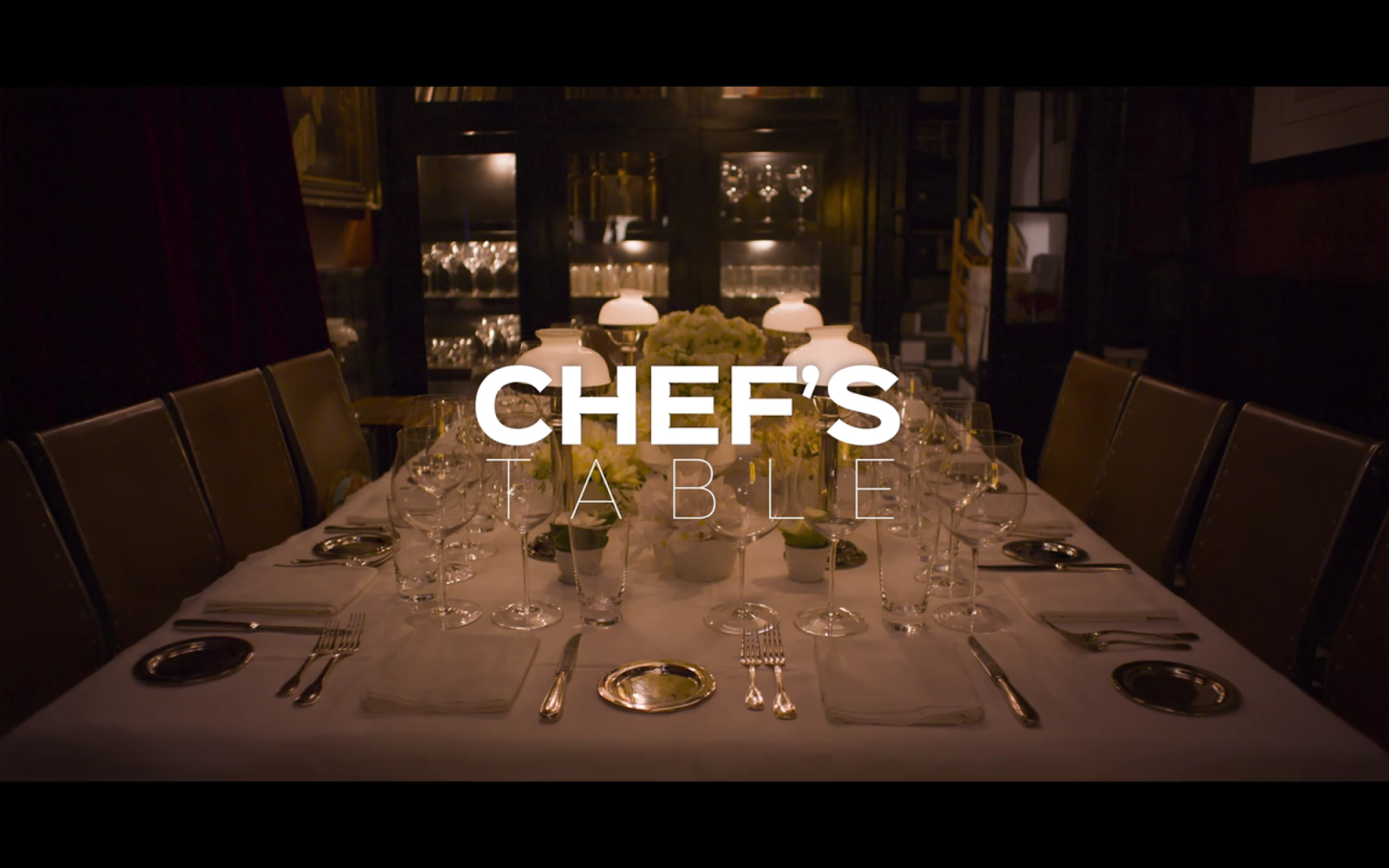 Chef's Table, Netflix Documentary, Food Documentary
