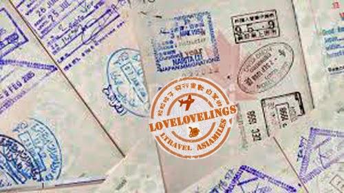 粒粒玲子里數遊 Lovelovelings Asiamiles: 旅遊証件與免簽証熱門旅遊點