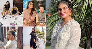 Qurat ul Ain Iqrar Beautiful Pictures with her Son Pehlaaj