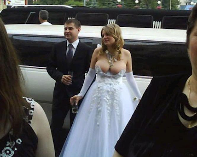 The Ugliest Wedding Dresses Ever Grunf
