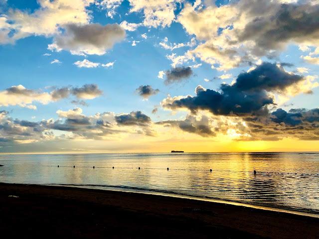 Sunrise at Conrad Bali