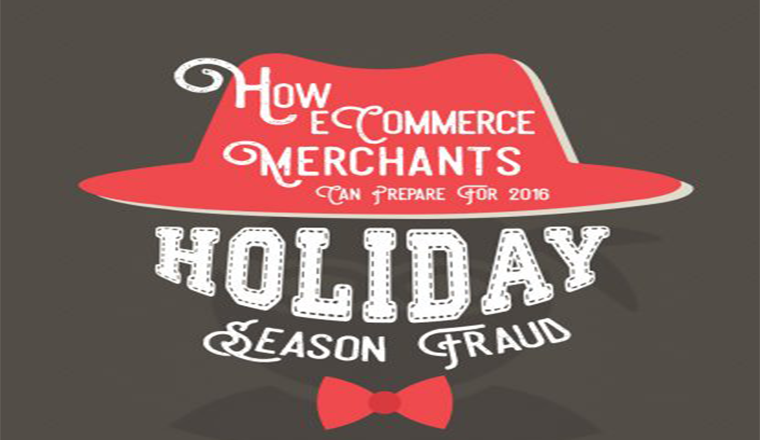 How eCommerce merchants can prepare for 2016 holiday season frauds #infographic