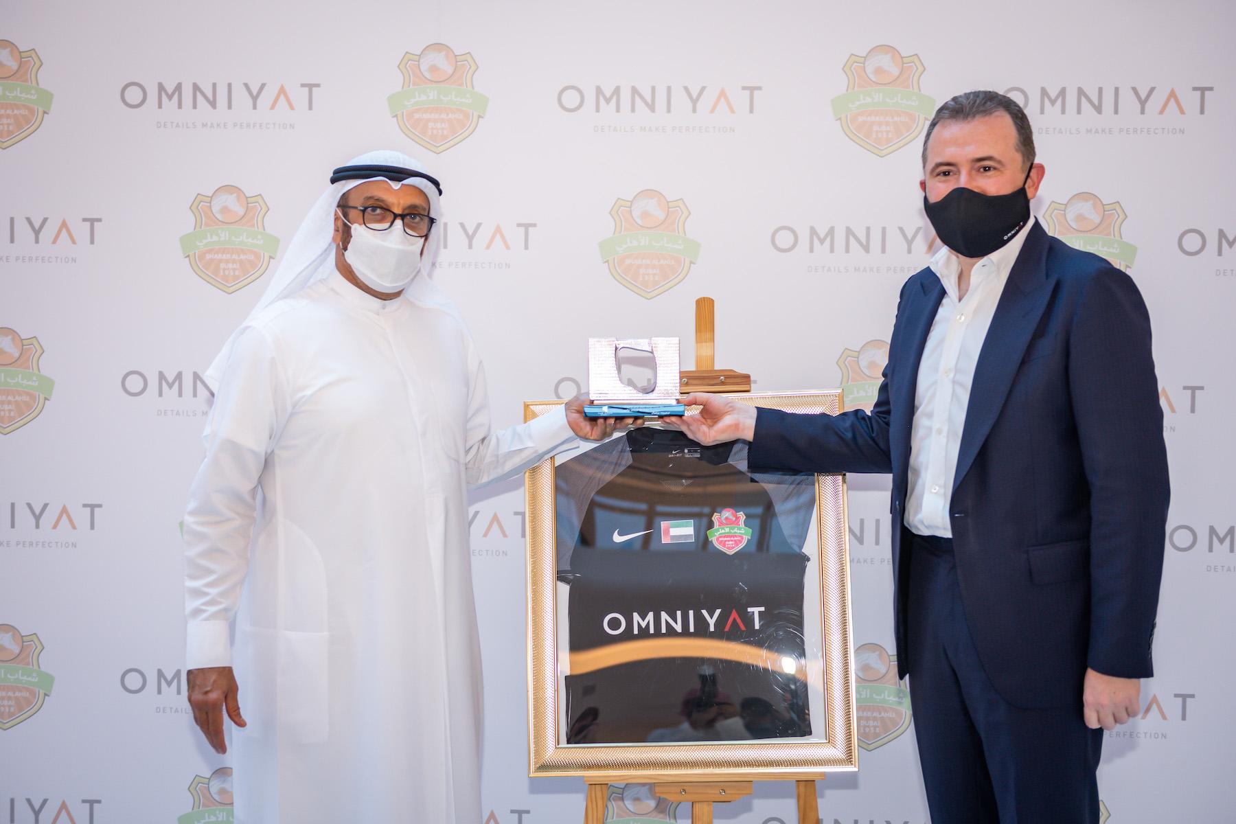 Omniyat new sponsor of Shabab Al Ahli Club