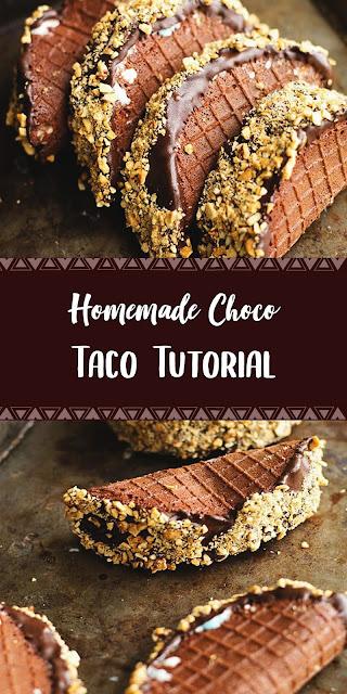 Sweet taste choco taco