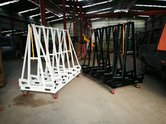 Stone Slab Storage Racks