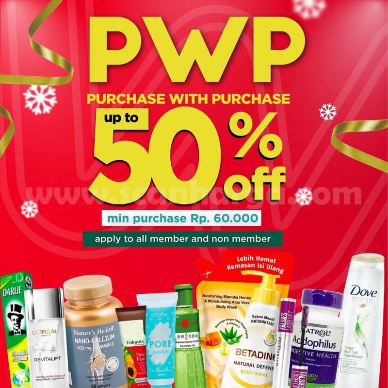 WATSONS Promo PWP – DISKON hingga 50%