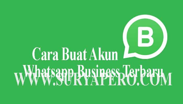 cara merubah whatsapp menjadi akun bisnis