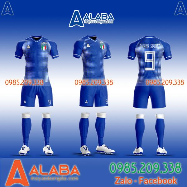 Áo đội tuyển Ý tự thiết kế ấn tượng