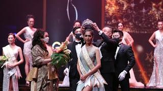 Amalia Tambunan Terpilih Menjadi Miss Global Indonesia 2020