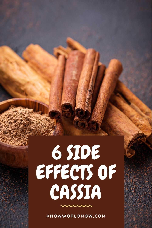 cassia cinnamon side effects