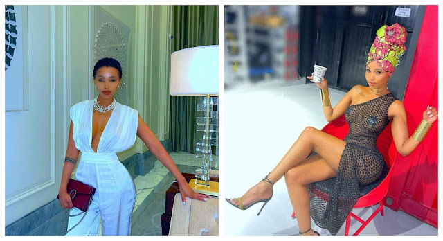 Be careful with who you chat with Online- Socialite, Huddah Monroe warns after a man kept their chat for 7 years