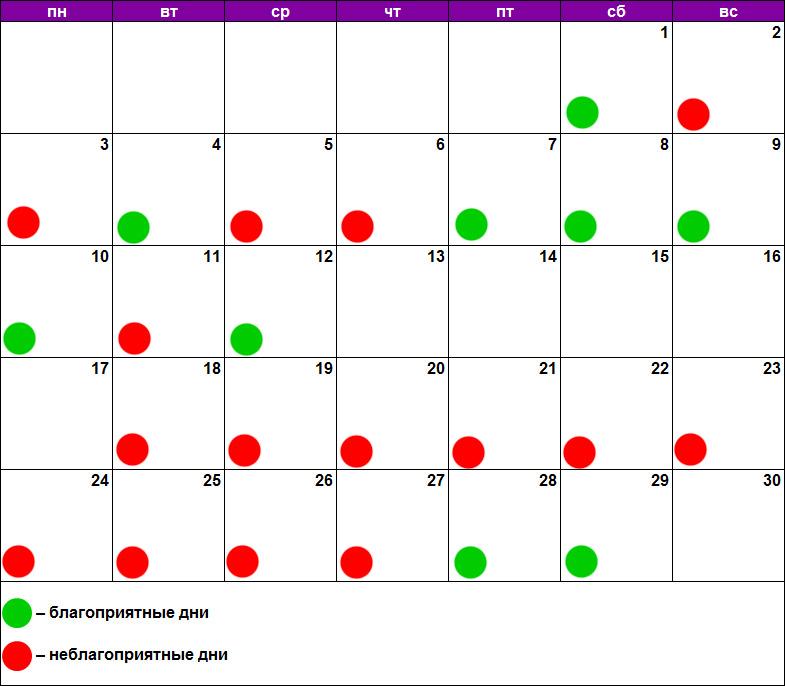 Лунный календарь для стрижки июнь 2019