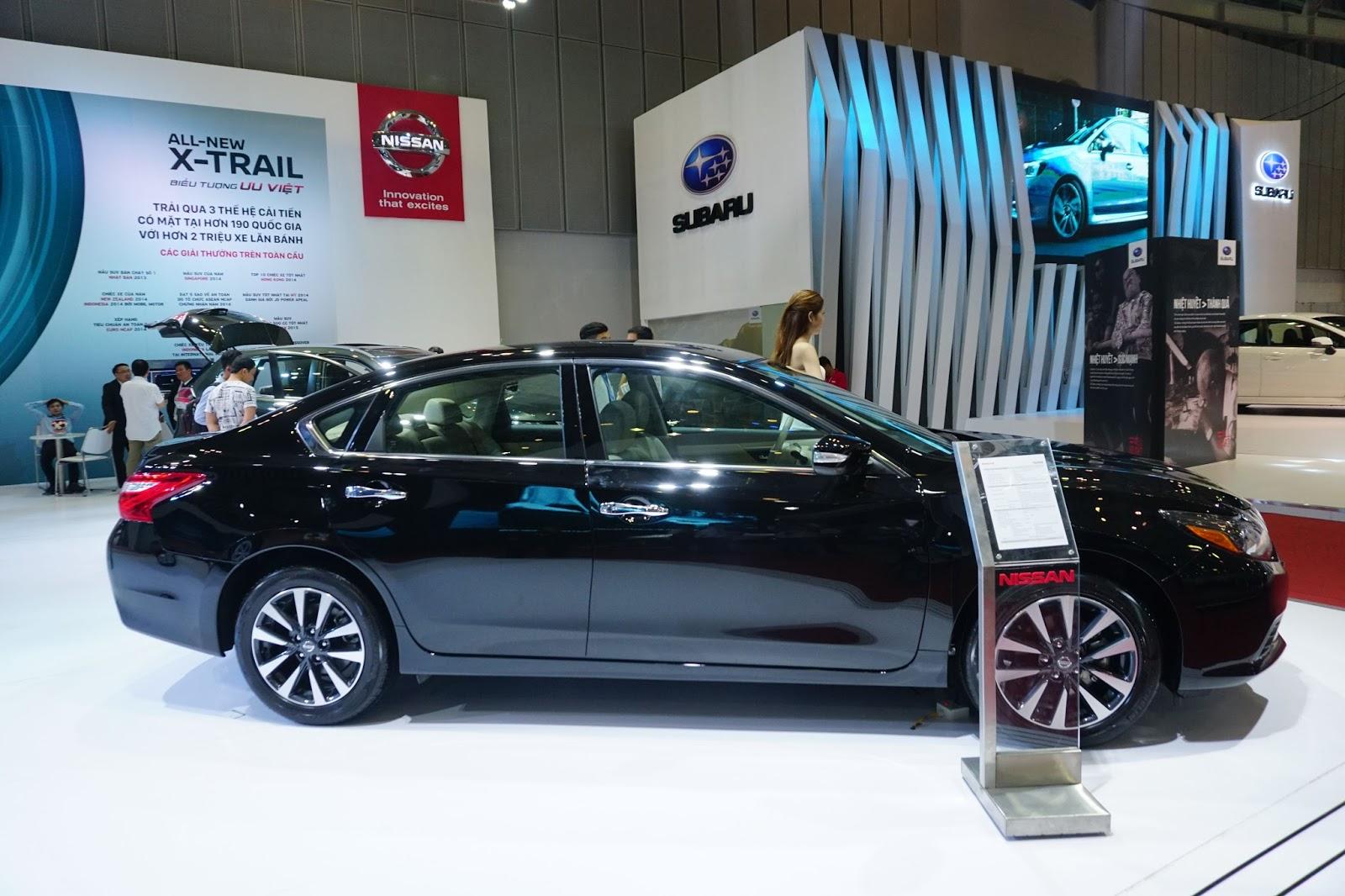 Nissan Teana 2017 vẫn chưa tạo được ấn tượng trong thiết kế