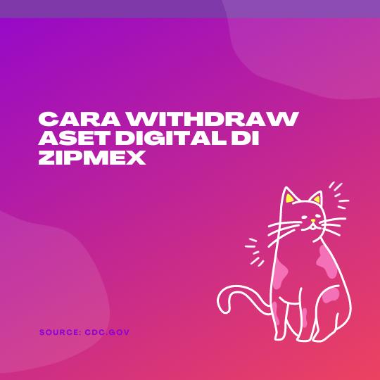 Cara Withdraw Aset Digital di Zipmex