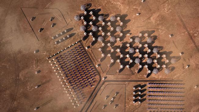 """Politecnico di bari: """"Hive Mars"""" sei studenti progettano come tesi di laurea un villaggio su Marte"""