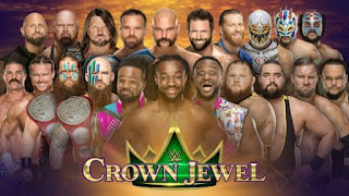 WWE CROWN JEWEL 2019 PREDICTIONS