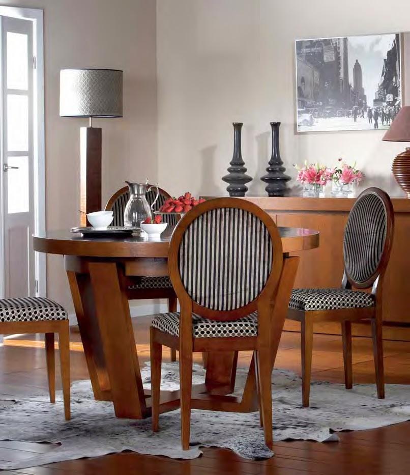Mesas de comedor 10 mesas de comedor redondas maravillosas for Mesas de madera para comedor redondas