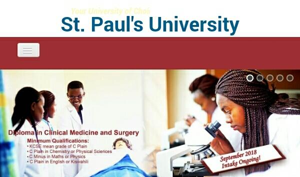 St Paul university admission 2018