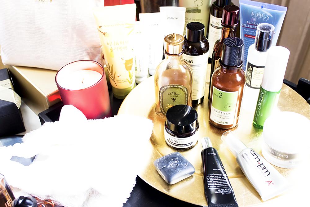 Cómo crear tu propia rutina de cuidado de la piel coreana limpiadores