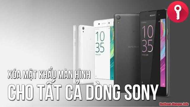 [VIDEO] Hướng dẫn xóa Mật khẩu màn hình cho dòng Sony Xperia