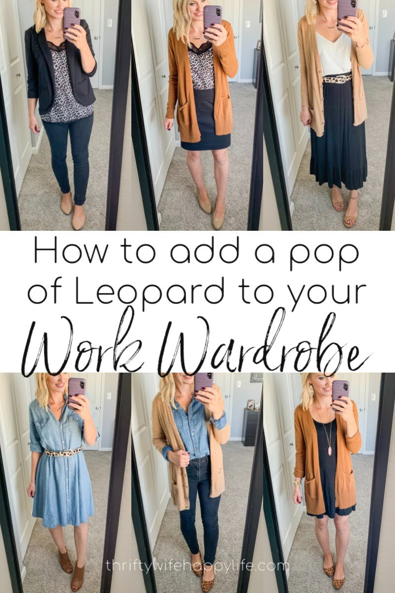 How to Add a Pop of Leopard to Your Work Wardrobe