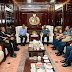 Kasal Siwi Sukma Aji Terima Kunjungan Menteri Kelautan dan Perikanan RI di Mabesak