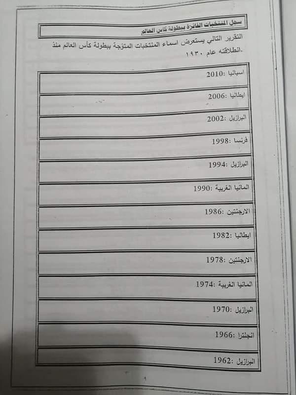 امتحان القدرات لكلية الاعلام 11