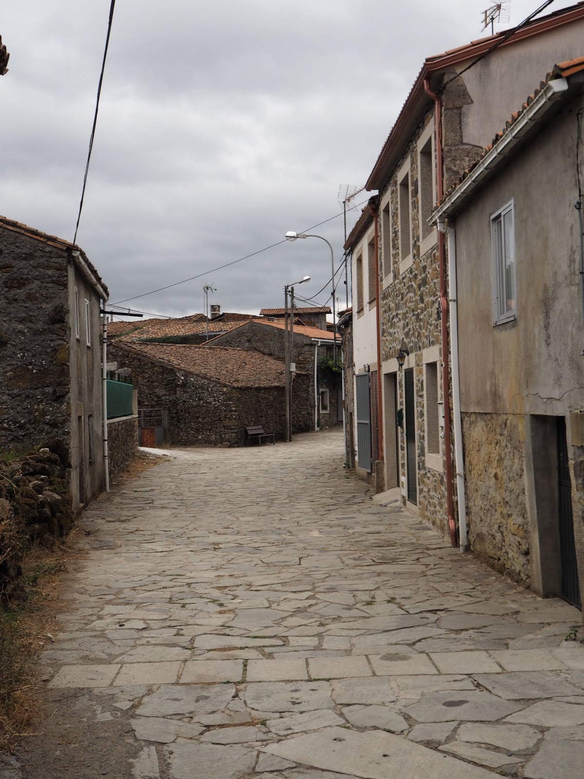 furelos village on the camino frances
