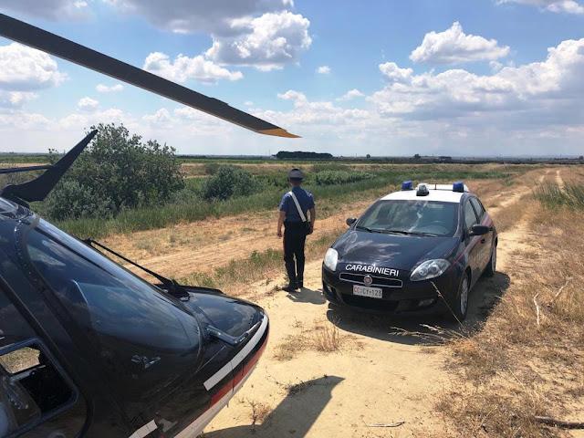 """Recuperati dai Carabinieri di Cerignola due trattori rubati e scoprono """"cimitero"""" di auto rubate"""