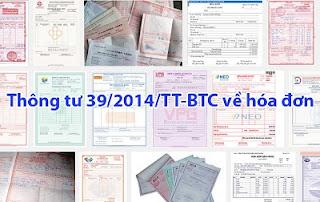 Thông tư mới về hóa đơn