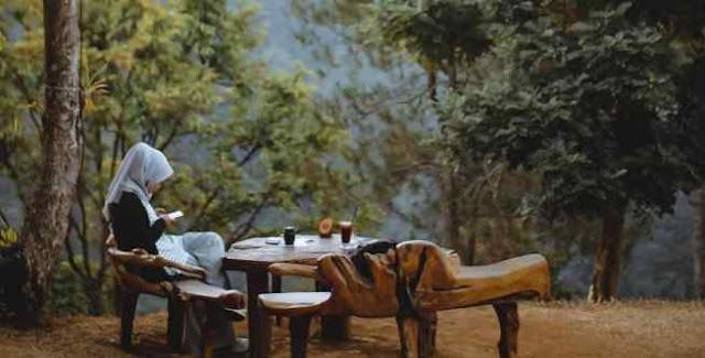 tempat makan bernuansa alam di Bandung