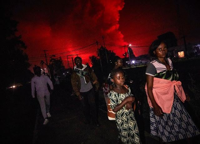 Εξερράγη ηφαίστειο στο  Κονγκό - Εκατοντάδες απάνθρωποι απομακρύνονται