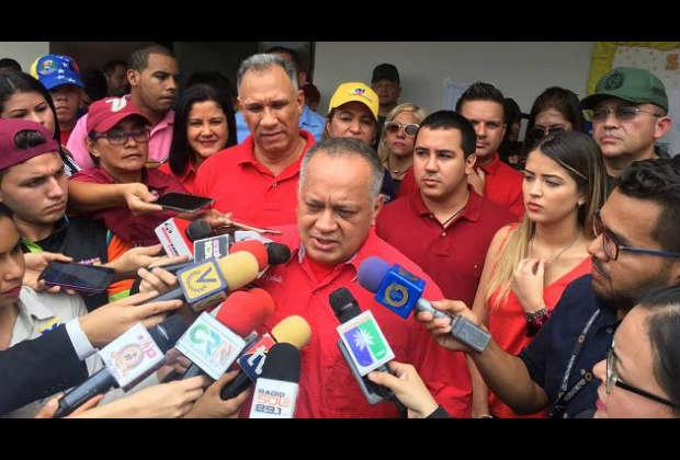 Cabello: No puede molestar para nada que el pueblo haga sus propias leyes