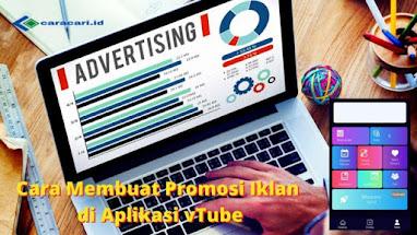 Cara Membuat Promosi Iklan di Aplikasi vTube Terbaru