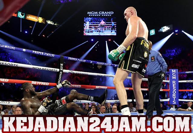 Petinju Tyson Fury Bacot Robohkan Wilder Lebih Cepat Dari Duel Sebelumnya