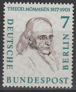 Germany Berlin 1957 Theodor  Mommsen