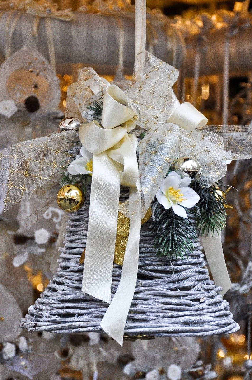 Christmas bell, Nuremberg Christmas market, Verona, Italy