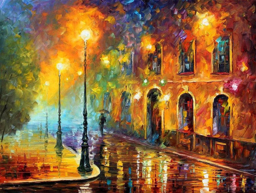 Skvot-Pop: Leonid Afremov: Soul Painting