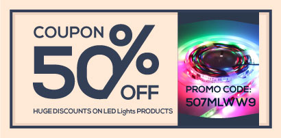 Save money with LED lights coupon