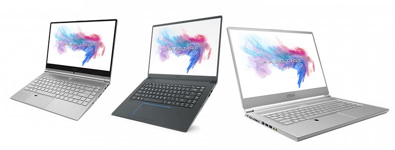 MSI Philippines launches Prestige Series laptops
