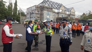Masuk Jalur Cianjur Tidak Pake Masker Didenda Seratus Ribu Rupiah