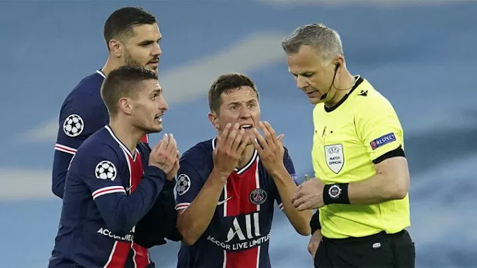 Ander Herrera: The referee told Paredes 'screw you' and we can't accept that