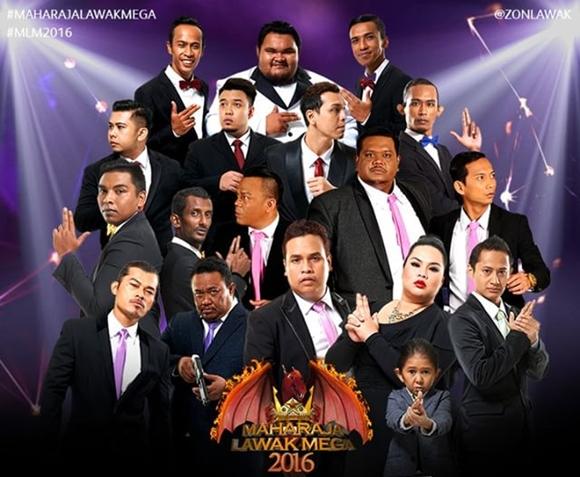 Maharaja Lawak Mega 2016 Minggu 10