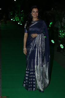 Dia Mirza in Sizzling Designer Saree at THE OLIVE CROWN AWARDS 2017 17.jpg