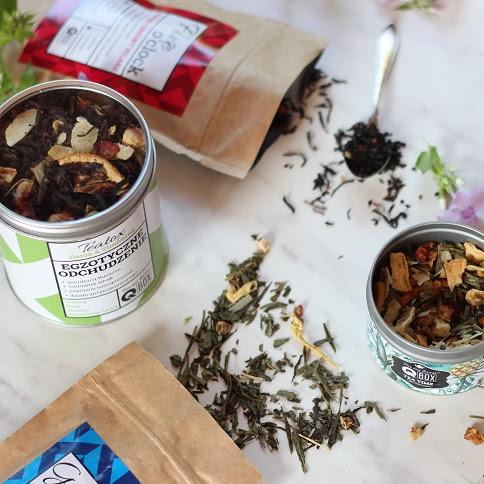 Orzeźwiający koktajl na bazie herbaty i kilka słów o marce Q-BOX
