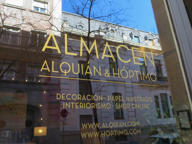Boutique Alquian - adresses shopping deco Madrid