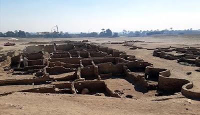 Kota Emas Mesir Yang Hilang Ditemukan Di Luxor