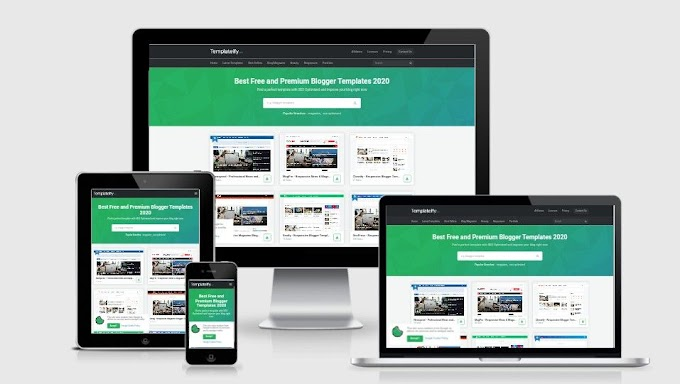 Templateify v4.5 Premium Blogger Template 2020