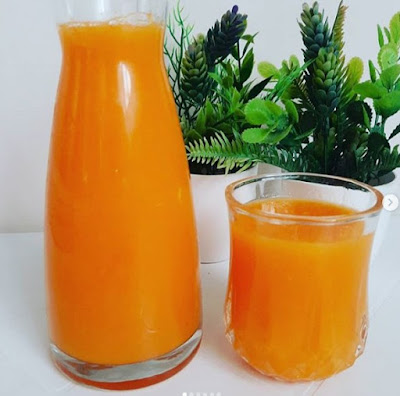 طريقة عمل عصير الجزر و الليمون