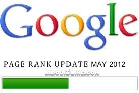 Google Update Pagerank Mei 2012